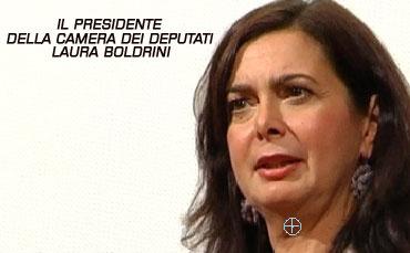 Il presidente della camera dei deputati laura boldrini a for Presidente camera dei deputati 2013